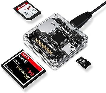 Nllano - Lector de tarjetas SD USB 3.0 CF adaptador de tarjeta de ...
