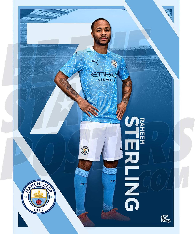 A3 Poster Be The Star Manchester City FC 2019//20 Kevin De Bruyne Action A3 Football Poster Impression Impression Papier Photo sous licence officielle Disponible en tailles A3 et A2