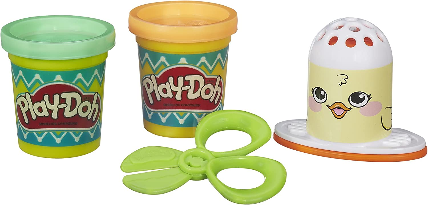 Hasbro Play-Doh Easter Playset Spring Chick w// Compound /& Scissors New