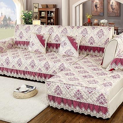 Cuscini per divani in tessuto moda nappe, divani moderni e semplici ...