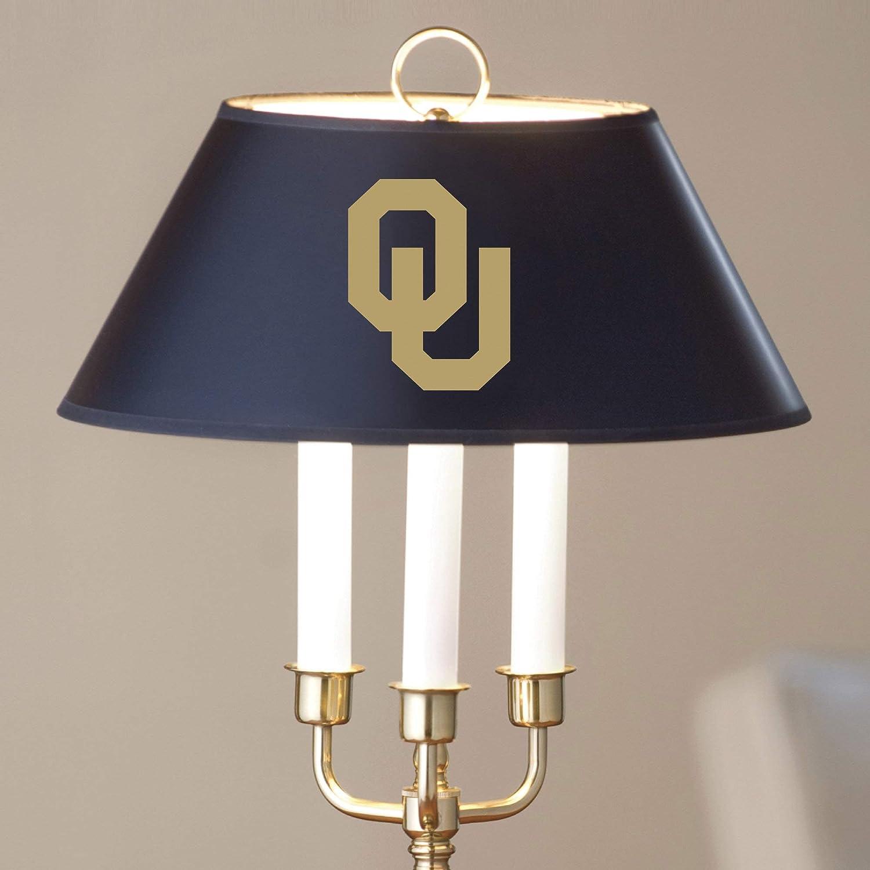 M LA HART NCAA Unisex Brass /& Marble Lamp