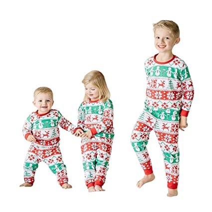 00b5b48001691 Amazon.com: HOT SALE!!1-6 Years Old Baby Boy Girl Christmas Outfit ...
