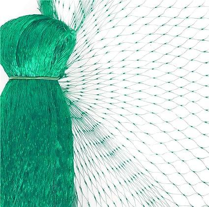 Vogelnetz Teichnetz Laubnetz Netz 6 x 10 m Teichabdecknetz Schutznetz