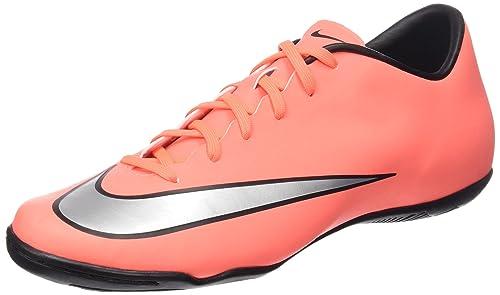 new concept 3b483 43109 Nike Men s Mercurial Victory V IC Bright Mango Metallic Silver Size 9 ...