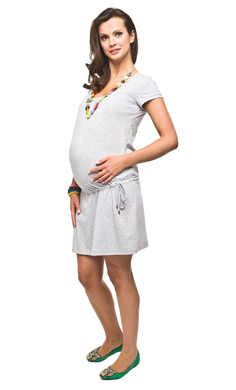 Sommerkleid aus Baumwolle, Umstandskleid, Modell: HOPE