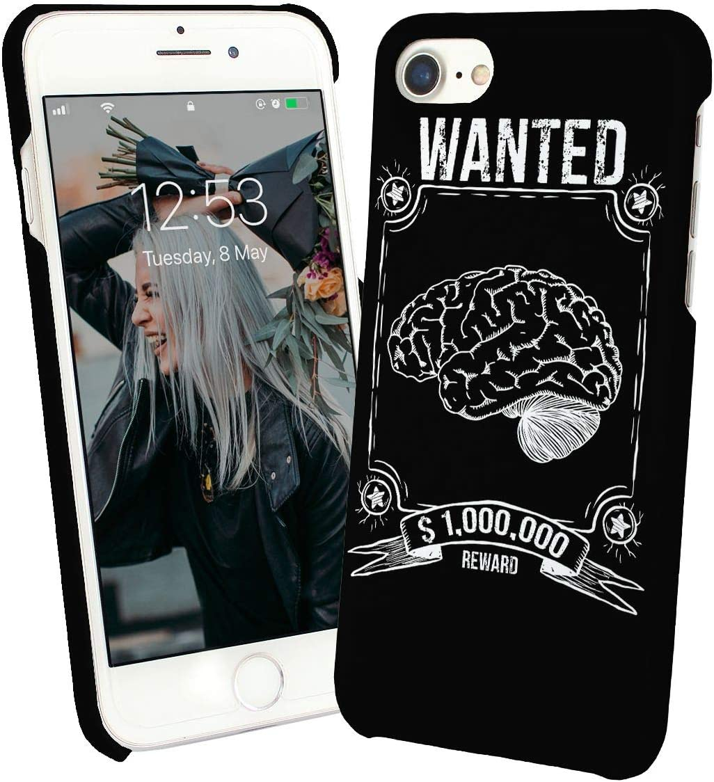LumaCases Wanted Brain For One Million Dollars Smart_000730 Case For Compatible with iPhone 6 Carcasa De Telefono Estuche Protector Cover Bumper Shell Protective Protection: Amazon.es: Electrónica