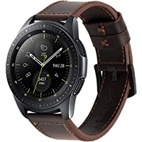 iBazal 20mm 22mm Watch Straps Qucik Release Leather Metal Milanese Silicone Watch Bands for Samsung Gear/Galaxy Watch, Huawei, Pebble, Garmin, Ticwatch, Fossil, Moto, LG, Asus, Nokia, Mens Womens Watch, Multi-Choice