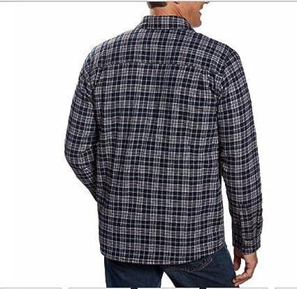Boston los comerciantes camisa de franela chaqueta para hombre con forro polar: Amazon.es: Deportes y aire libre