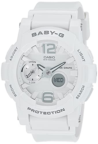 275d3ebde83 Buy Casio Baby-G Analog-Digital White Dial Women s Watch - BGA-180-7B1DR  (BX026) Online at Low Prices in India - Amazon.in