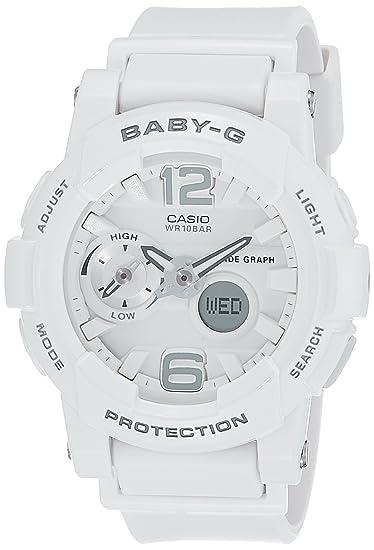 398585617bb64 Casio Ladies Baby-G G-LIDE Analog-Digital Casual Quartz Watch NWT  BGA-180-7B1  Amazon.ca  Watches
