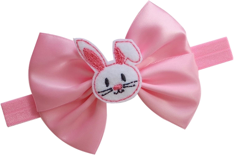 Easter Bunny Headband Infant Easter Headband First Easter Hairband First Easter Hair bow Baby Bunny Headband 1st Easter Headband