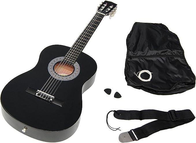 ts-ideen 5262 - Guitarra acústica infantil (tamaño 3/4, para 8-12 ...