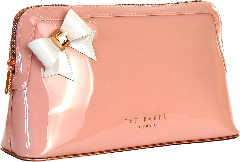 Ted Baker Mujer Alley Bolsa de Aseo, Neceser, Neceser Talla: Grande - Rosa Claro, Grande: Amazon.es: Equipaje