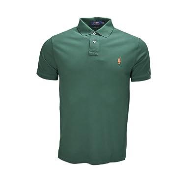 a8a410174fb Ralph Lauren Polo Classique 2 Boutons Vert pour Homme  Amazon.fr ...