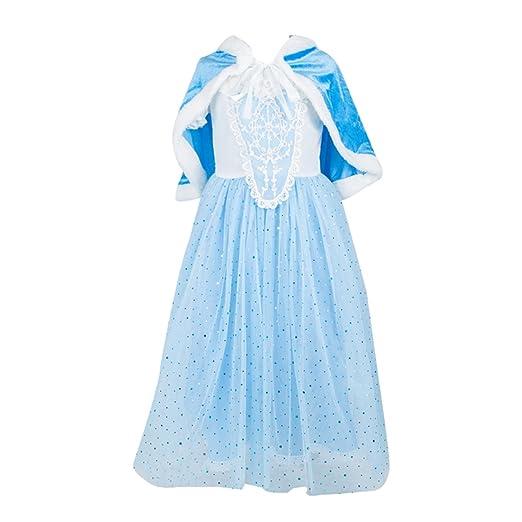 222 opinioni per ELSA & ANNA® Ragazze Principessa abiti partito Vestito Costume IT-Dress-SEP