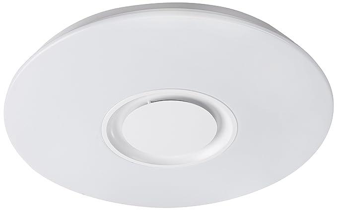 Plafoniere Bluetooth : Interfan plafoniera con bluetooth integrato w bianco amazon