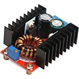DROK Micro DC Converter Power Transformer 120W 12V/24V/48V 10-32V to 35-60V Volt Regulator Module Boost Step-up Inverter Board DIY Charger for Car Auto Vehicle Motor