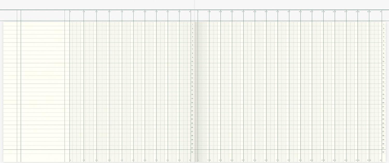 Spaltenbuch K+E 86-11761 40Bl 26Spalten KL 7126K40KL
