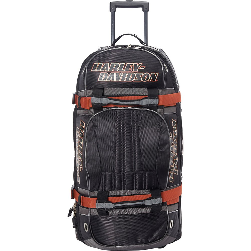 Harley Davidson 33'' Wheeled Equipment Duffel, Black by Harley-Davidson (Image #3)