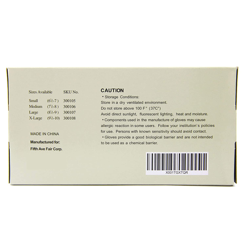Best Quality Powder Free Sushi Glove 100 pcs Medium