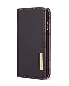 BENTOBEN Funda Note 8, Funda Samsung Galaxy Note 8, Cartera Carcasa Cuero Genuino Delgada Cover Case Soporte Plegable Ranuras para Tarjetas y ...