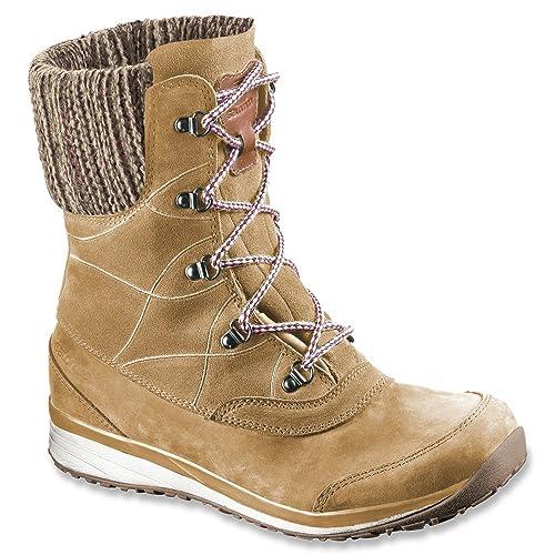 Womens Salomon Women's Hime Mid Leather CSWP Winter Wear Shoe Outlet Size 40
