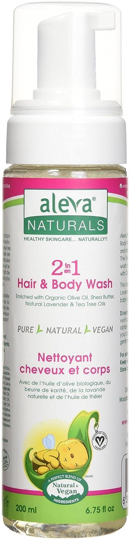 Aleva Naturals 2 in 1 Hair and Body Wash, 6.75 fl.oz / 200ml 37932