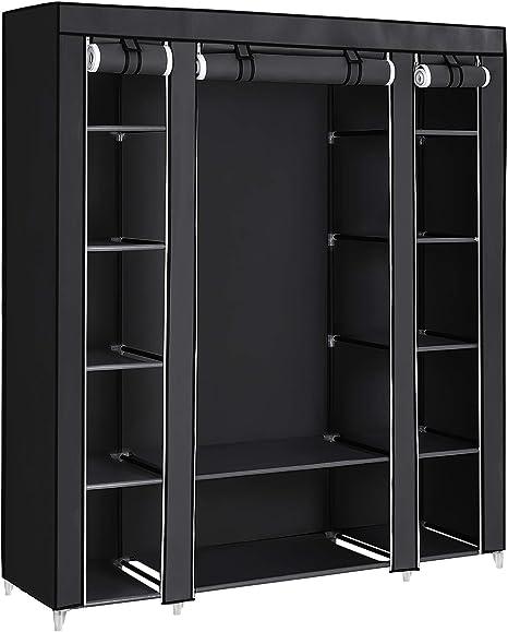 Space Saving Closet Clothes Organizer Home 5 Tier Hearts 16x30x90 cm 770104