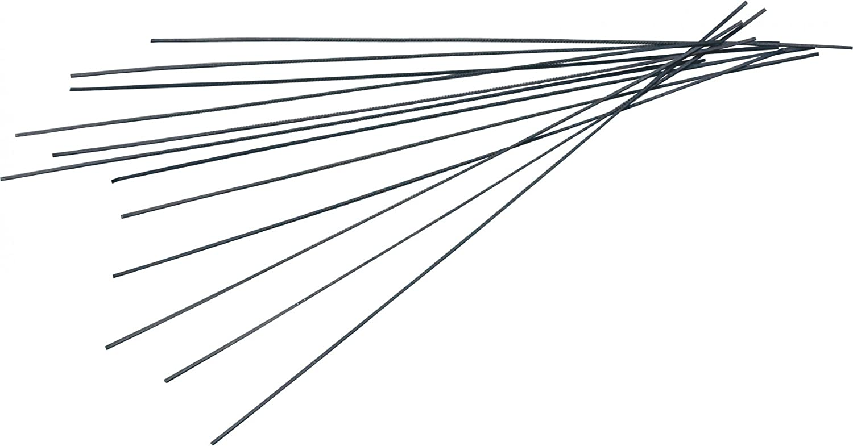 TRIUSO Hol - Hoja para sierra de marquetería (tamaño 5, dentado redondo, fino, 130 mm)