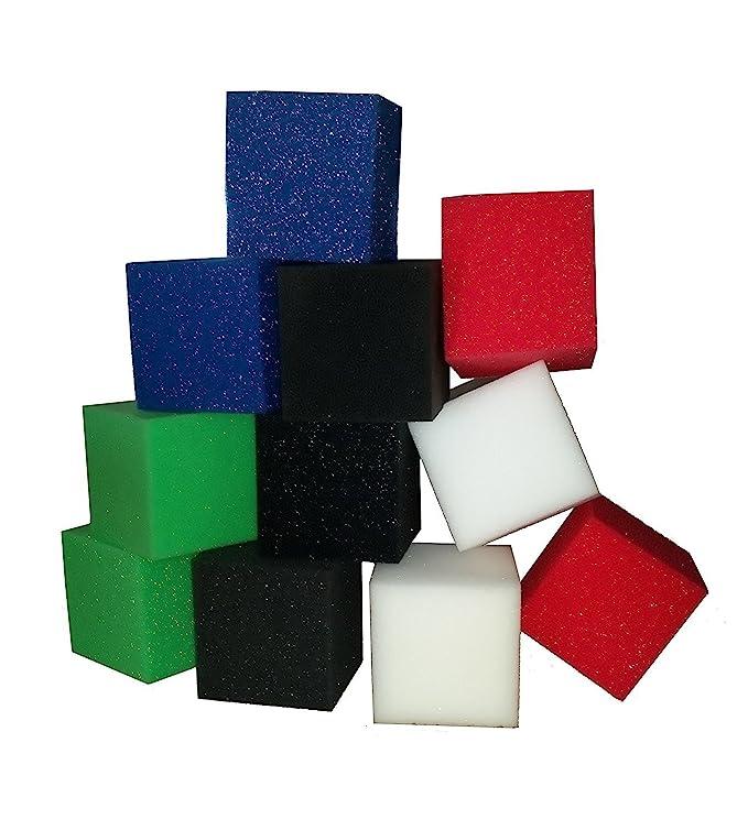 Fosos de espuma, gimnasia, cubos de cama elástica & Huesos de monopatín, bloques de espuma de protección de los niños Playhouse/20 pcs.