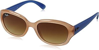 Ray-Ban Gafas de Sol 4198 604585 (55 mm) Rosa: Amazon.es: Zapatos y complementos