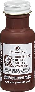 Permatex 20539 Indian Head Gasket Shellac Compound, 2 oz.