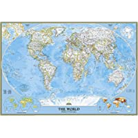 World Classic, Laminated: Wall Maps World