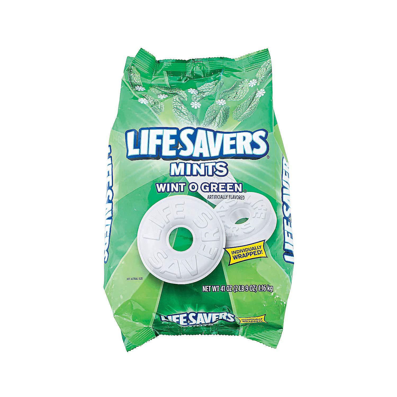 Lifesavers Wintogreen Mints - 308 Pieces - 2.56 Pound Per pack