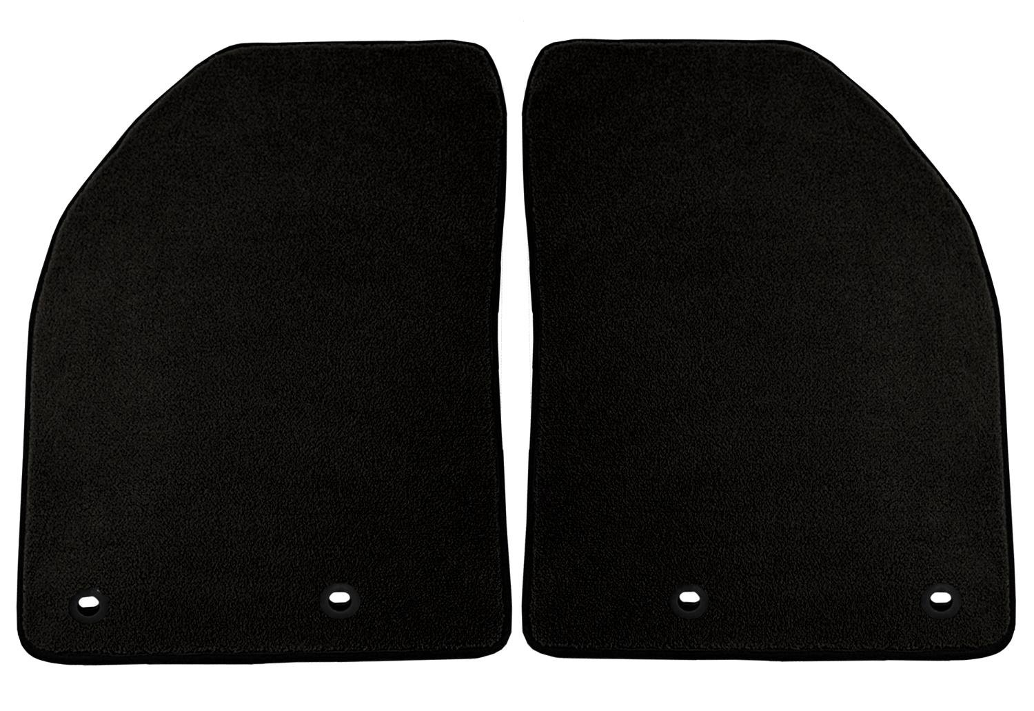 Black Coverking Custom Fit Front and Rear Floor Mats for Select Cadillac CTS Models Nylon Carpet CFMBX1CD7276