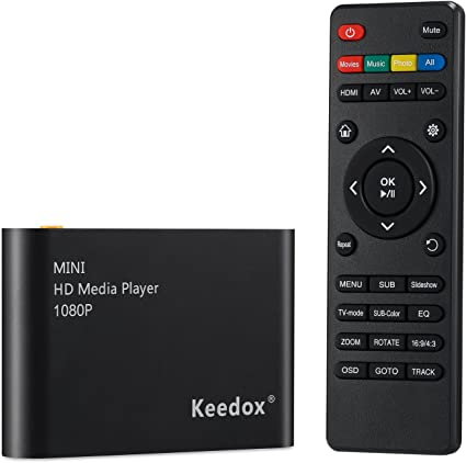 Amazon.com: Reproductor multimedia, Keedox – Reproductor de ...