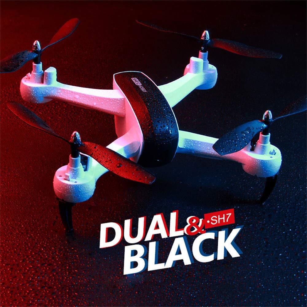 Yezijin Unmanned Aerial Vehicle, Quadcopter, 1080P 5MP WiFi FPV Altitude Hode Geature Selfie Intelligent Follow Me RC Drone (White)