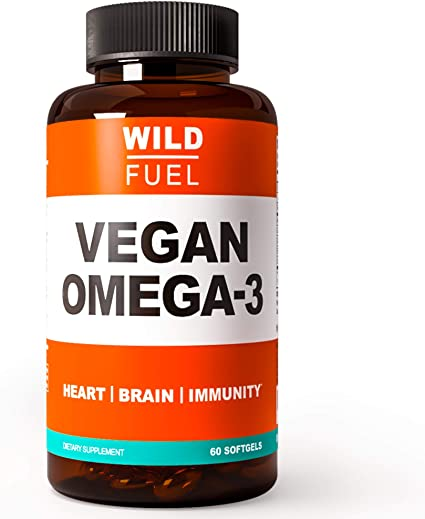 Wild Fuel Vegan Omega 3 Supplement