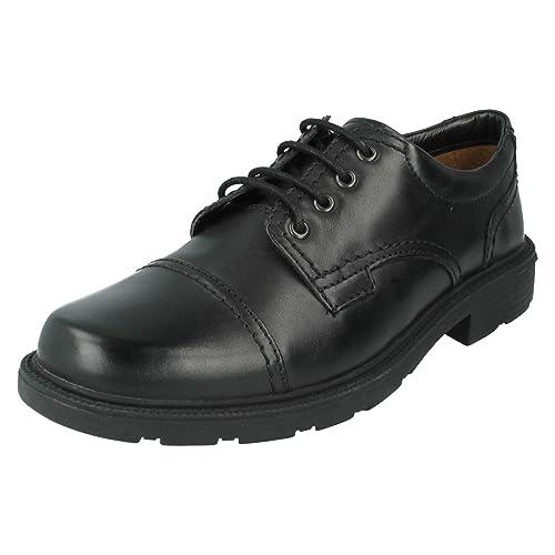Clarks Lair Cap Mens Lace Up Shoes 8 Black