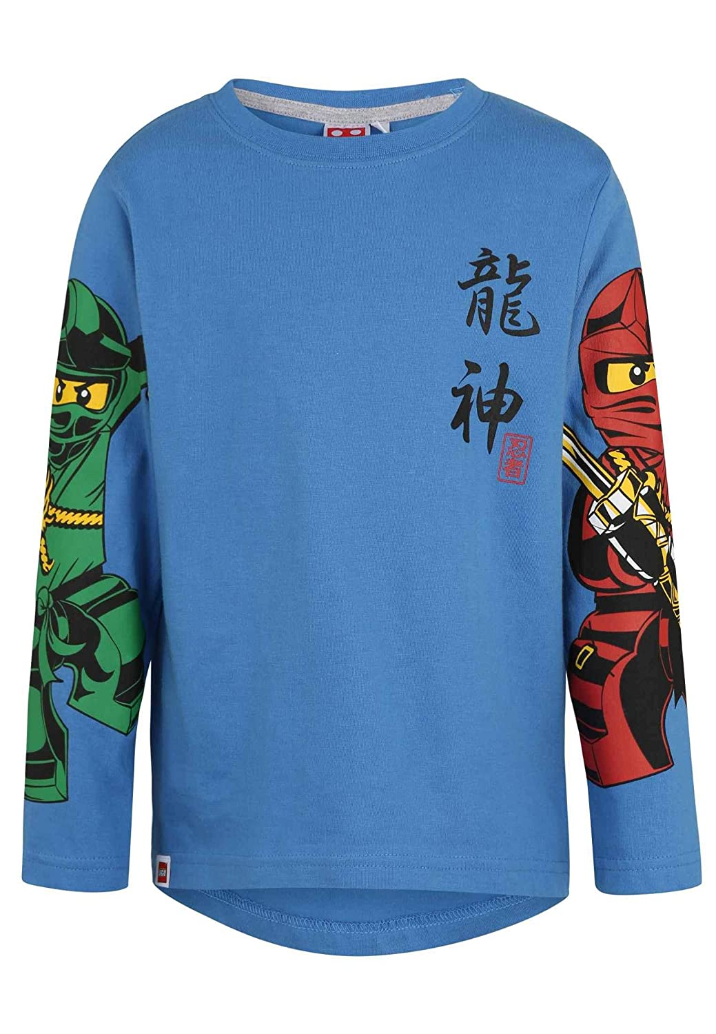 Lego Official Ninjago Licensed Boys Long Sleeve Top T-Shirt 100/% Cotton New 2018//19 Collection 3-10 Years