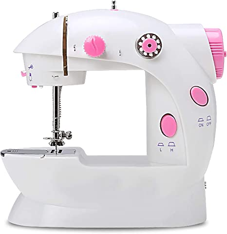 Mini Electric Sewing Machine Portable Electric Crafting Speed Crafting Mending Machine Electric Overlock Sewing Machines
