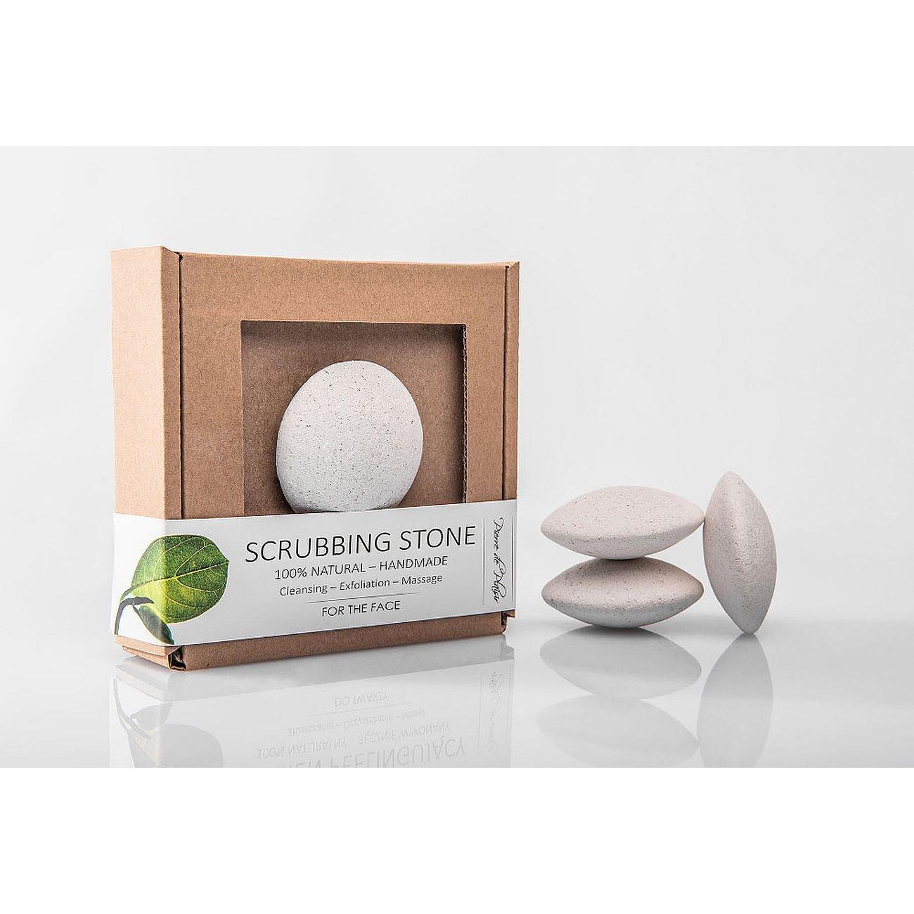 Pierre de Plaisir - Natural Scrubbing Stone for the Face White - 40g by Pierre de Plaisir