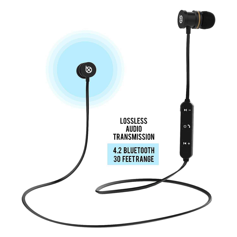 Basx Bluetooth Wireless Headphones Stereo Sweatproof Headset Professional Samsung Sony Asus Xiaomi Oppo Lenovo Vivo Electronics