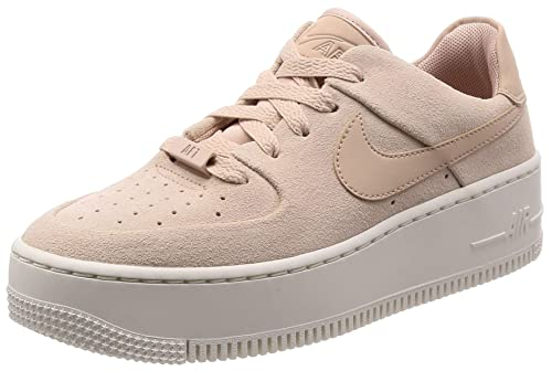 half off e3550 45ac5 Nike Air Force 1 Sage Low Women s Shoes Particle Beige ar5339-201 (5 B
