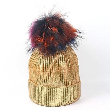 Wikibird Caliente Cálido Algodón Raya Cómodo Sombreros y Gorras ...