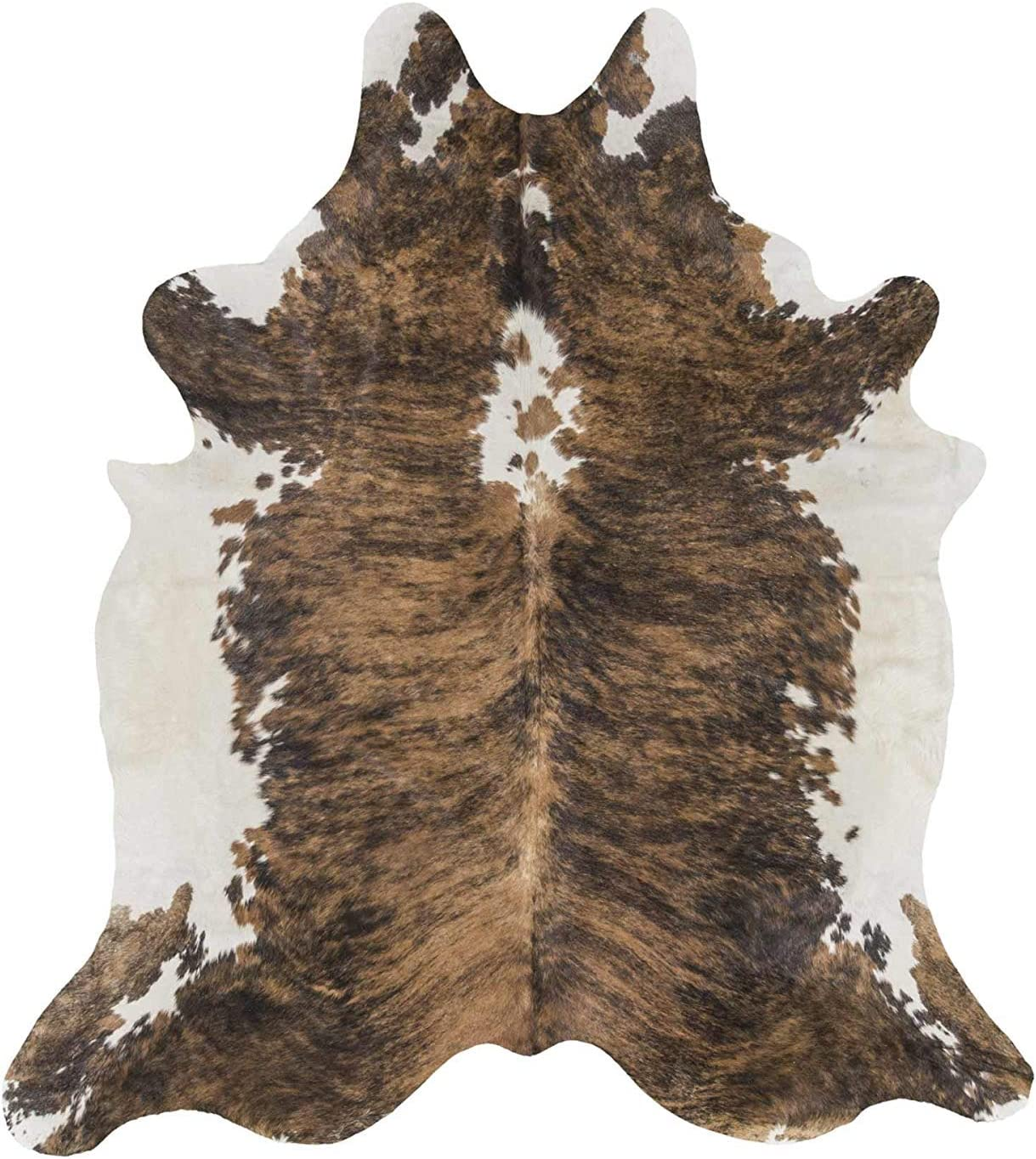 rodeo Extra Large Exotic Brindle ft Rug 7x8 Animer and price revision Brazilian 100% quality warranty Cowhide