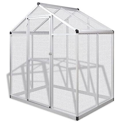 Amazon.com: BestHomeFuniture - Jaula de aluminio para ...
