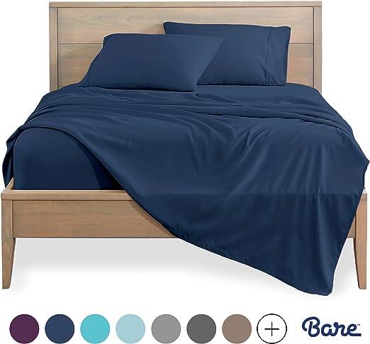 Amazon Com Bare Home Twin Xl Sheet Set College Dorm Size
