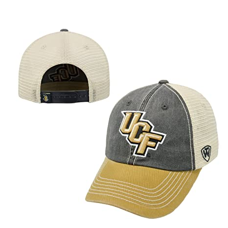 f12a4cdfa UCF Knights Mens Offroad Hat One Size Grey/gold