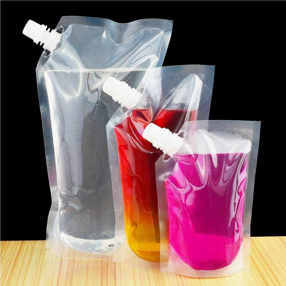 Petardos de plástico con boquilla y embudo pequeño, 210 ml ...